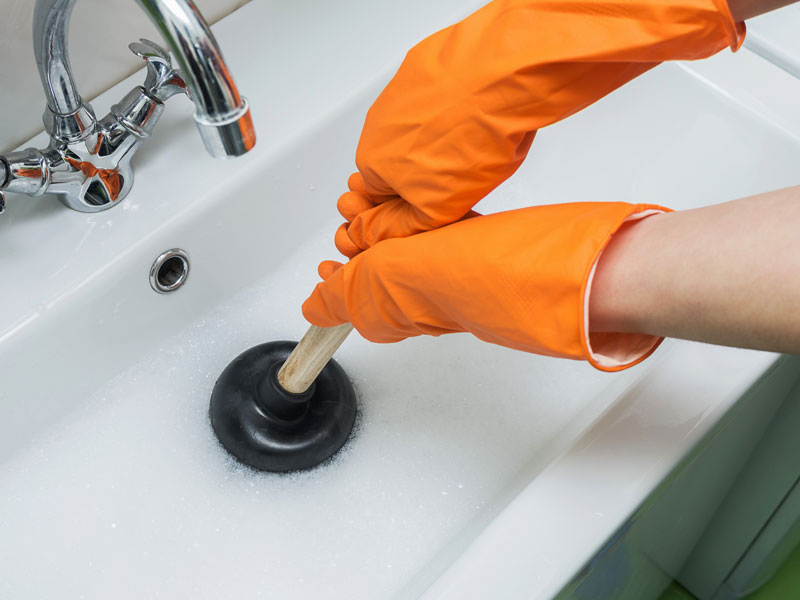 How to eliminate bad sink odors?