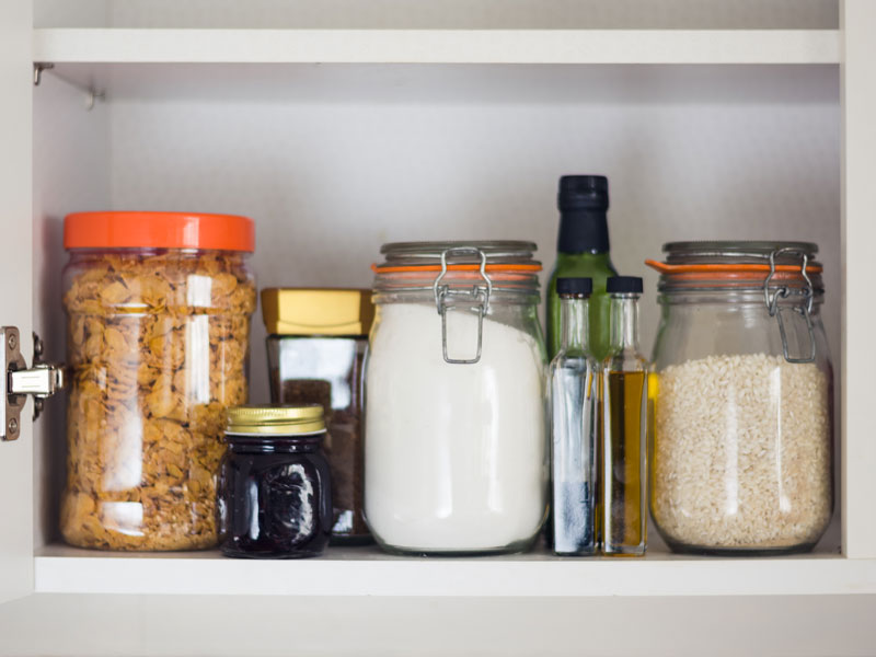 How to keep food moth from infesting your cupboards?